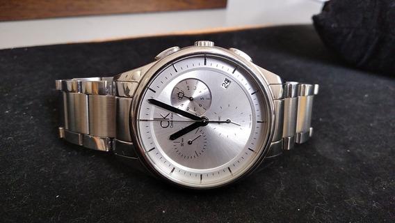 Relógio Calvin Klein K2a271 Swiss Made Em Excelente Estado