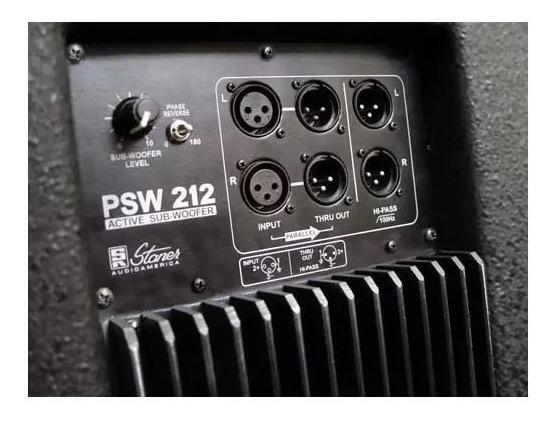 Subwoofer Ativo Staner Psw-212 220 Watts 12 Polegadas