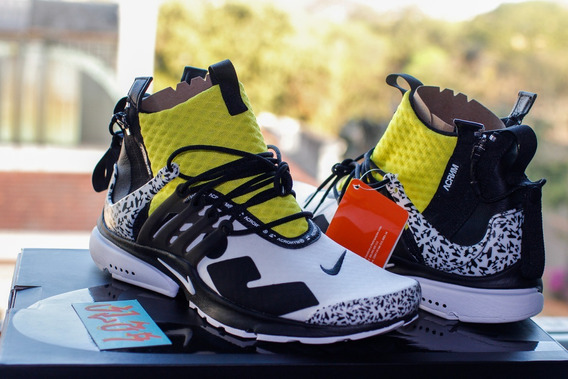 Acronym X Nike Presto Mid Dynamic Yellow Ds 42 Original