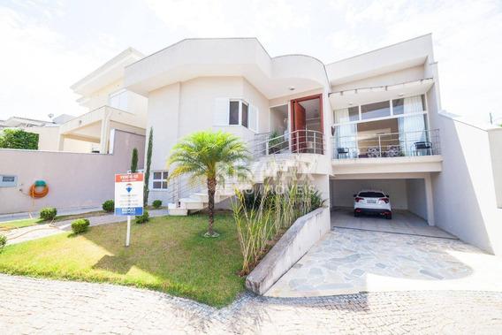 Casa A Venda Com 4 Quartos (sendo Todas Suítes) Em Valinhos, Condomínio Fechado. - Ca5456