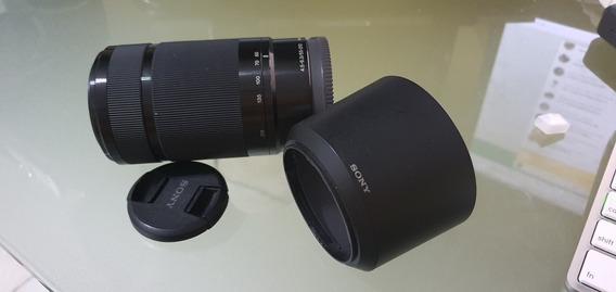Lente Sony E 55-210mm F/4.5-6.3 Oss (sel55210)