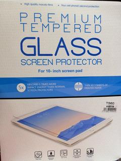 2 X Lamina Premium De Vidrio Templado 9,6 Pulg Galaxy Tab E