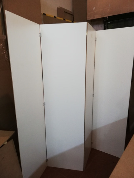 Biombo Separador De Melamina Blanca 5mm Precio Por Hoja