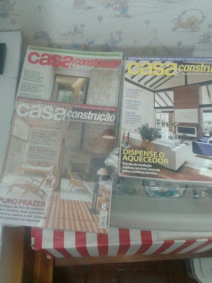 Revistas Casa E Construção É Arquitetura E Construção