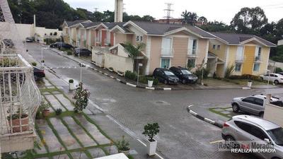 Casa Em Condomínio Completo Com Piscina, 03 Dormitórios E 2 Vagas, Na Granja Viana, Próximo Ao Shopping Da Granja - Ca0078