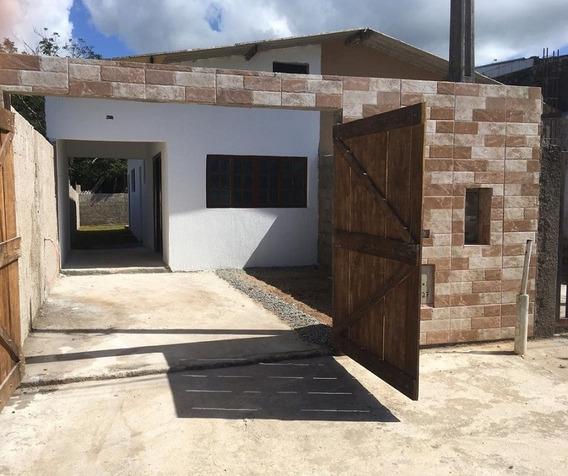 Casa No Bairro Bordignon Em Itantanhaém !! Ref:4957