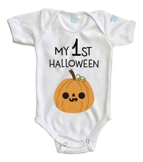 Pañalero My 1 St Hallowen Día De Muertos Bebé Body Ropa Baby