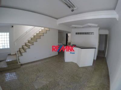 Casa Comercial Vila Mariana - 03 Salas, Recepção, Ar-condicionado - Metrô Santa Cruz - Ca0773