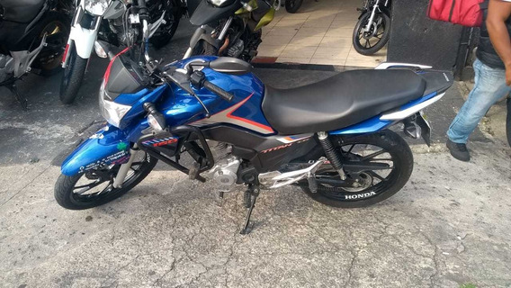 Honda Cg 160 Titan Ex Azul 2018