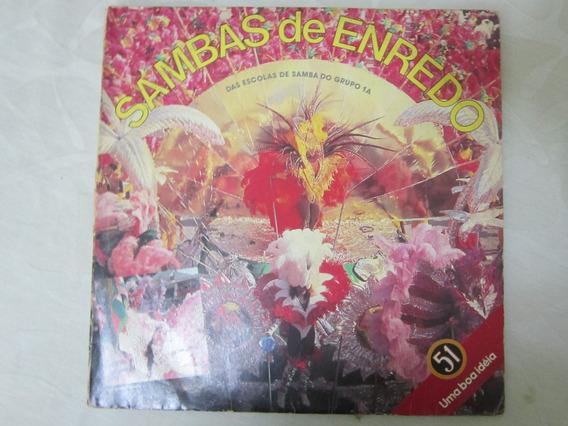 Vinil/lp Sambas De Enredo De 88