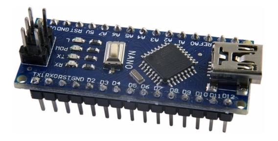 Arduino Nano V3.0 Avr Atmega328 P-au/ Sem Cabo