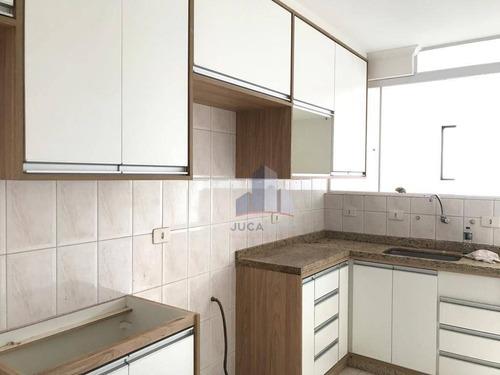 Imagem 1 de 30 de Apartamento Com Cozinha Planejada, 2 Dormitórios, 70 M² - Venda Por R$ 280.000 Ou Aluguel Por R$ 1.016/mês - Vila Emílio - Mauá/sp - Ap0502