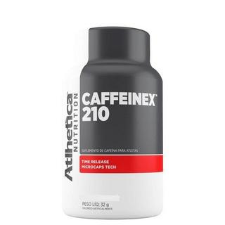 Caffeinex - 210mg - 90 Cápsulas - Atlhetica