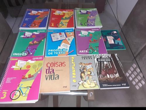 Kit De Livros: Trilhas Sistema De Ensino Ftd (7° Ano,11 Und)