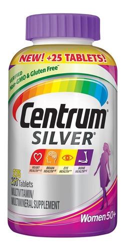 Centrum Silver Mujer 50+ X275 - Unidad a $2