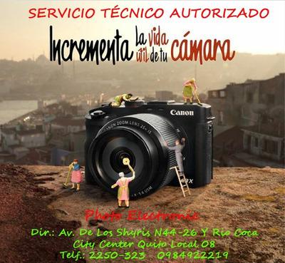 Reparación De Cámaras Fotográficas, Video, Lentes Y Flashes