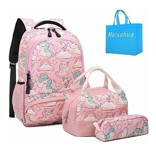 Mochilas Escolares Meisohua Set Mochila Para Unicornio Para