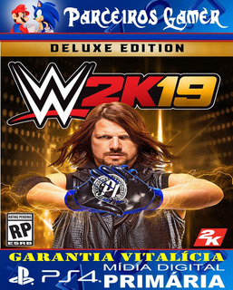 Wwe 2k 19 Deluxe Edition - Combate - Ps4 1 - Mídia Digital