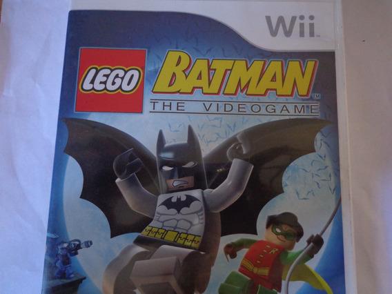 Jogo Do Wii Original Batman The Video Game