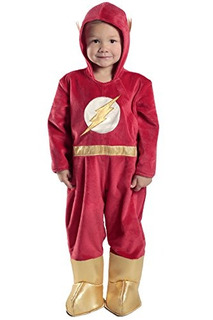 Disfraz Super Heroes Baby The Flash Bebé Halloween U S A