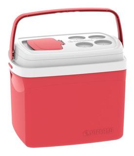 Caixa Térmica 32 Litros Vermelha Soprano Oferta