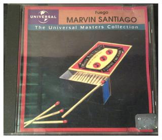 Cd - Marvin Santiago - Universal Exitos - 2000 - Original