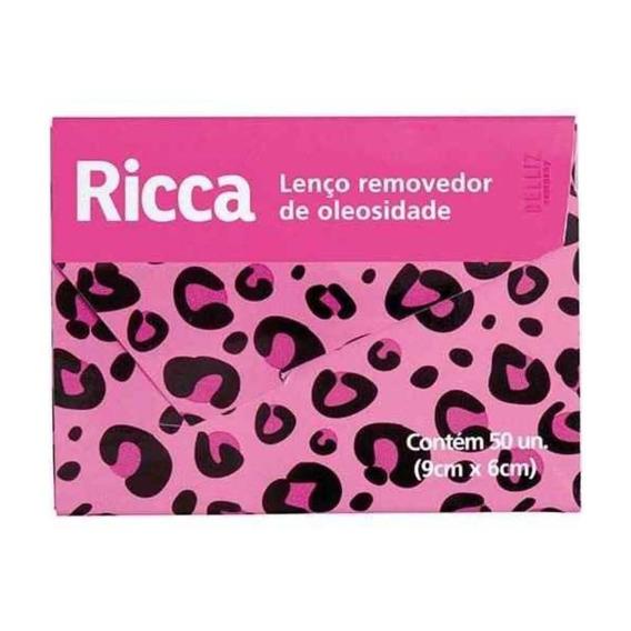 Ricca 3716 Lenço Removedor De Oleosidade C/50