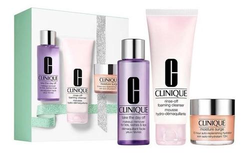 Imagen 1 de 7 de Set Limpieza E Hidratación Clinique Jumbo / Prestige Parfums