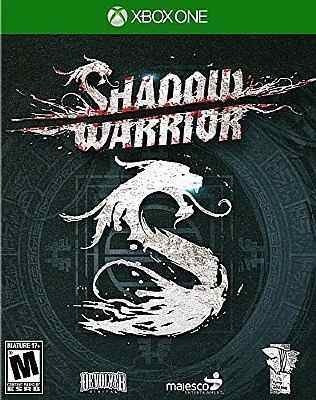 Shadow Warrior (mídia Fisica) - Xbox One (novo)
