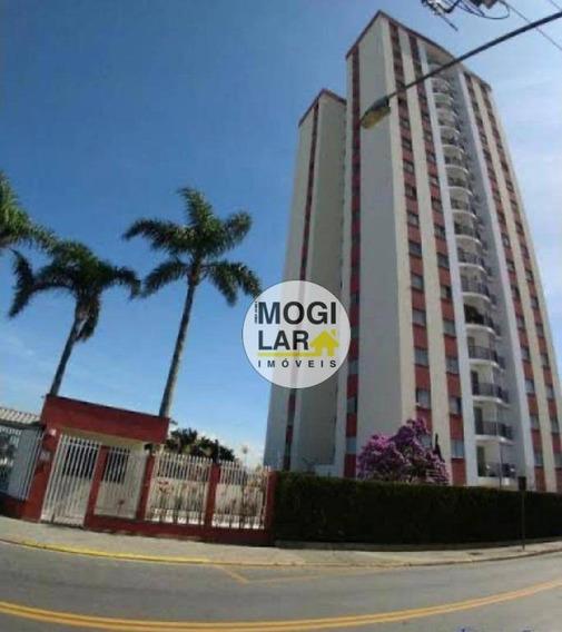 Apartamento Com 3 Dormitórios À Venda, 75 M² Por R$ 330.000,00 - Alto Ipiranga - Mogi Das Cruzes/sp - Ap0305