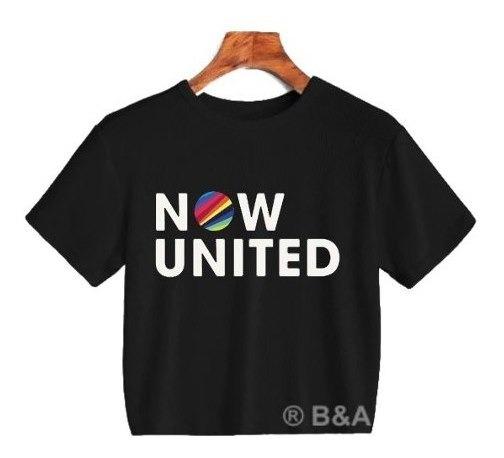 Cropped Camiseta Now United Super Oferta