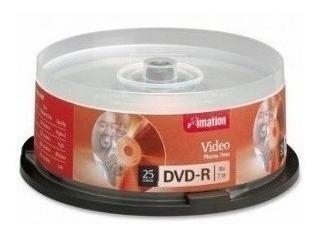 Tubo 25 Dvd-r Imation