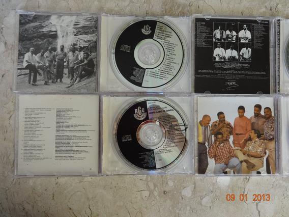 Coleção Com 4 Cds De Misica Samba Grupo Fundo De Quintal