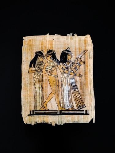 Papiros Egipcios Originales Importados De Cairo 44x34 Cm