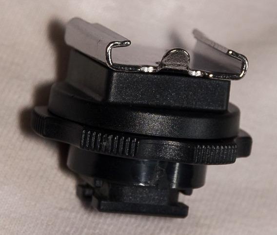 Adaptador Sapata Sony Macho P Sapata Canon Nikon +lens Pen+