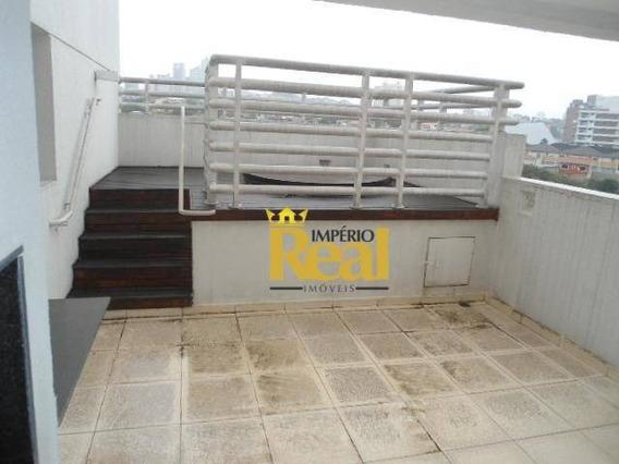 Cobertura Com 2 Dormitórios À Venda, 95 M² Por R$ 1.500.000 - Pompéia - São Paulo/sp - Co0187