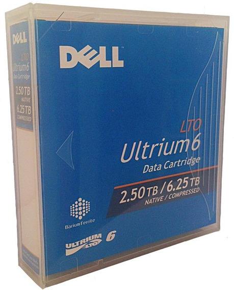 Lote Com 5 Fita Backup Dell Lto6 Ultrium 6.25tb Nova/lacrada