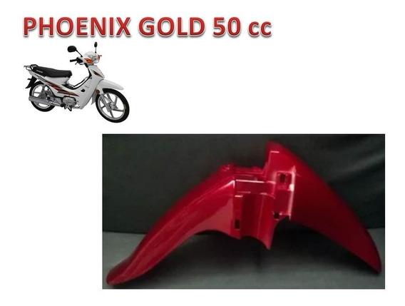 Paralama Dianteiro Vermelho Phoenix Gold 50 Cc Shineray