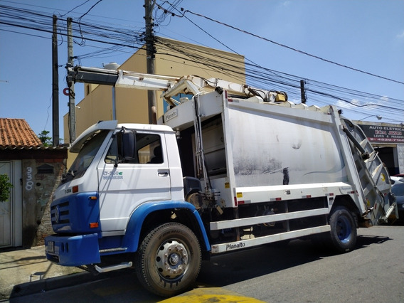 *compactador De Lixo Planalto Com Grua Vw 17250 Ano 2012*