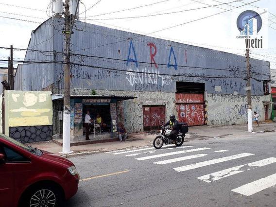 Alugo Excelente Galpão, Vila Mirante - Ga0221