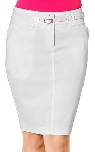 Falda Casual Dama Gmt Blanco 9-11 076-898 T2
