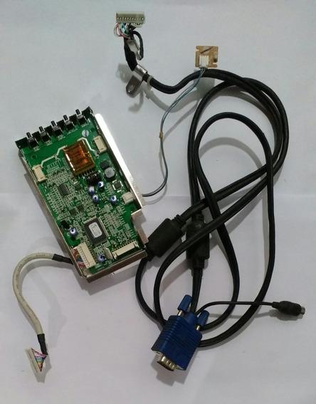 Placa Logica + Cabo Monitor LG L1553s-sf