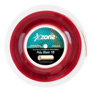 Rolo De Cordas P/ Raquetes De Tenis Zons Polyblast 16 1.30mm