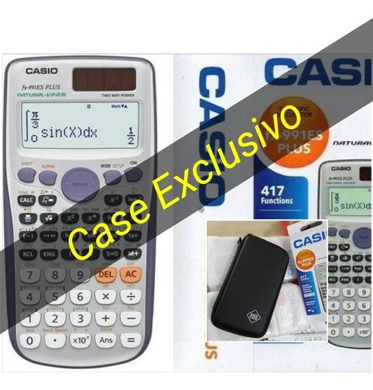 Calculadora Científica Casio Fx 991 Es Plus Com Case Importa