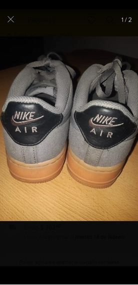 Zapatillas Nike Air Force One Grises