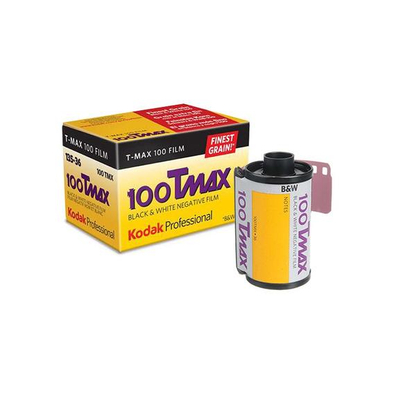 Filme Fotográfico Kodak T-max 100 Branco E Preto