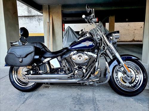 Imagem 1 de 15 de Harley Davidson Fat Boy 2013 - Toda Equipada - Baixa Km