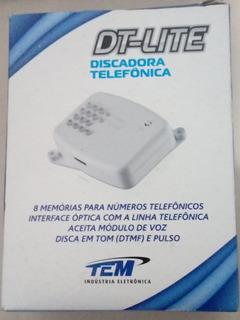 Discadora Telefônica Dt-lite Tem(8 Memórias)