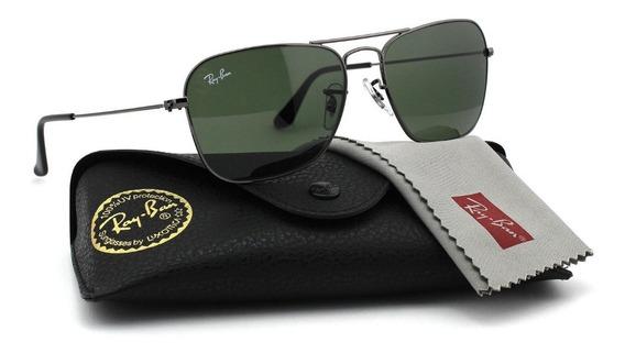 Oculos De Sol Ray Ban Rb3136 Caravan Classico Masculino