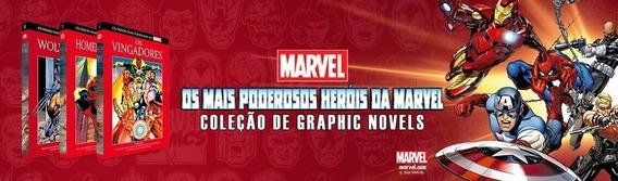 Coleção Completa Salvat - Os Mais Poderosos Heróis Da Marvel